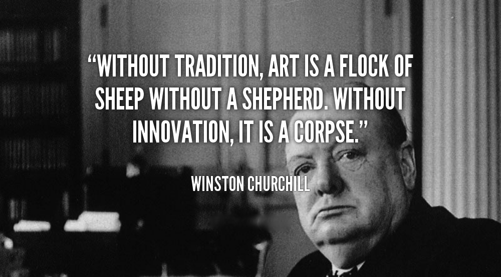 Winston Churchill Quote on Art