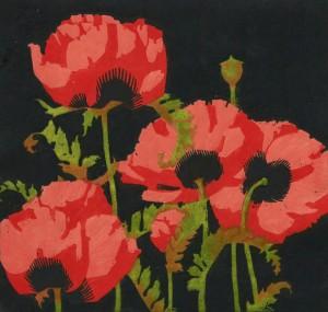 A.J. Casson, Oriental Poppies