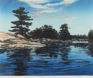 E. Bartram, Island Cove, Georgian Bay