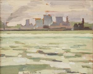 Conyers Barker, Toronto Skyline