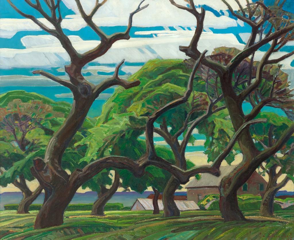 Franklin Carmichael, Old Orchard (1940)