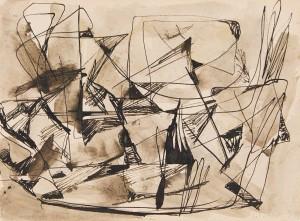 Jean Paul Riopelle, Sans Titre (1946)